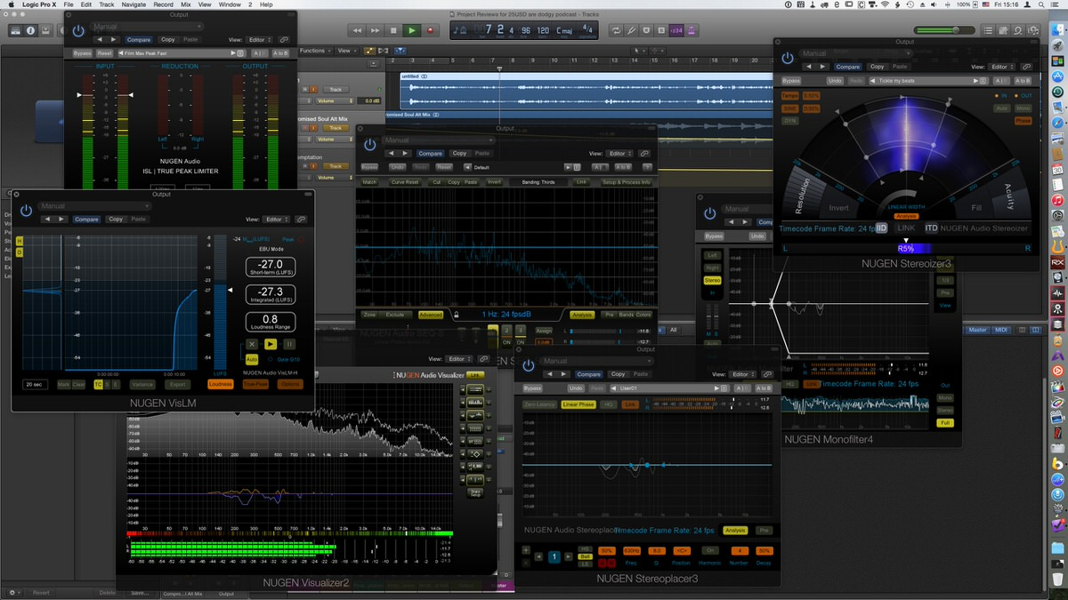 NUGEN Audio Post Pack interface