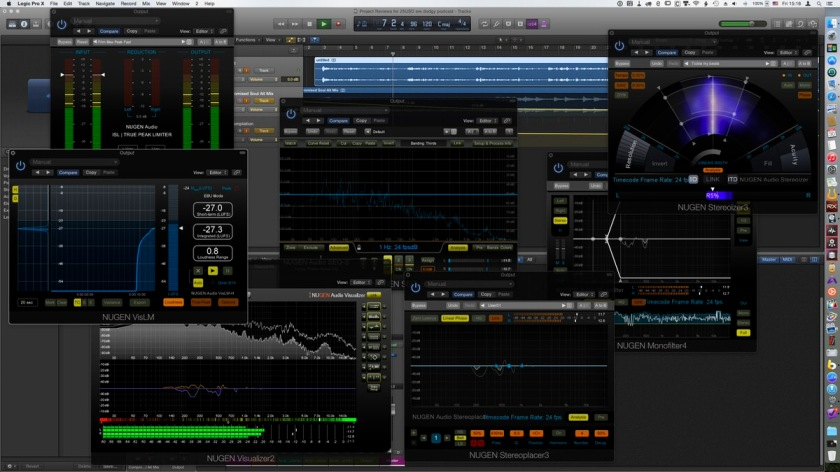 NUGEN Audio Post Pack interface