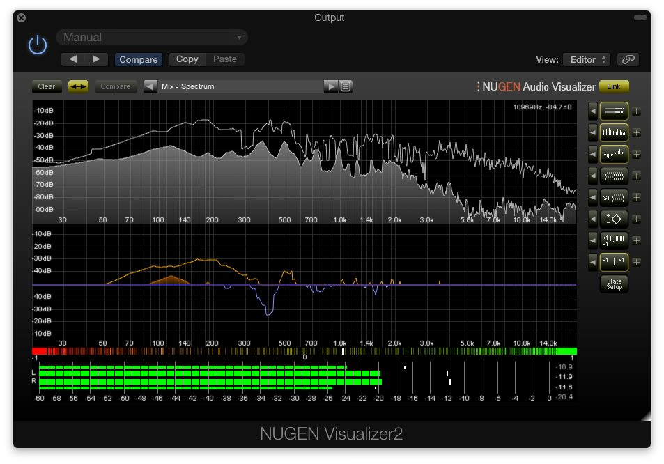 NUGEN Audio Post Pack Visualizer