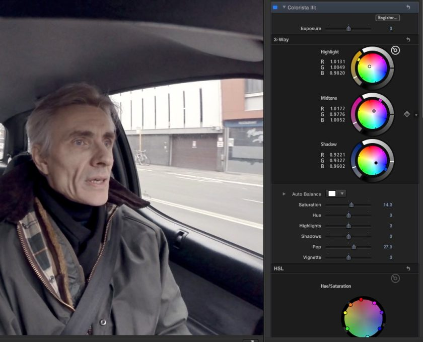 Colorista III in Final Cut Pro X