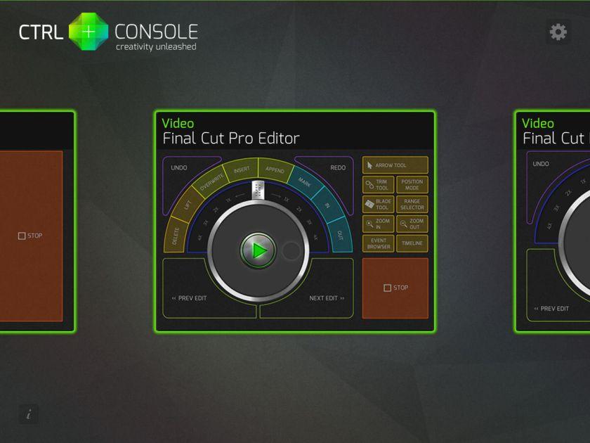 Ctrl+ Console
