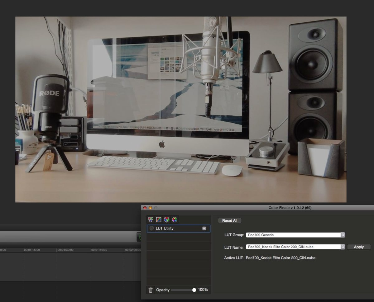 Emulate analogue film colour workflows accurately with ImpulZ LUTs