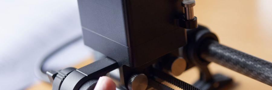 Rhino Motion mounting on the slider