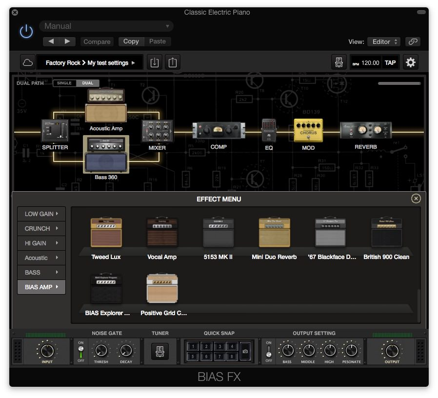 bias fx desktop guitar effects great for creating soundscapes as well visuals producer. Black Bedroom Furniture Sets. Home Design Ideas