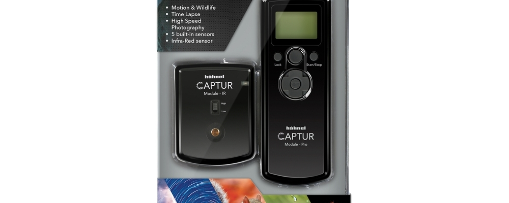 Hahnel Captur Pro time lapse and more controller in box. Review.