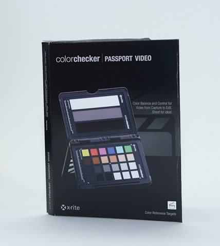 colorchecker passport video box