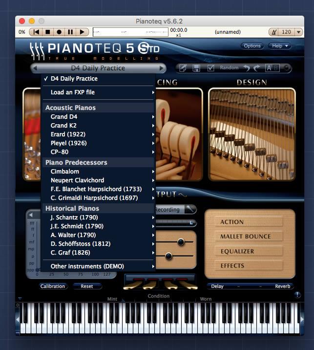 pianoteq pianos