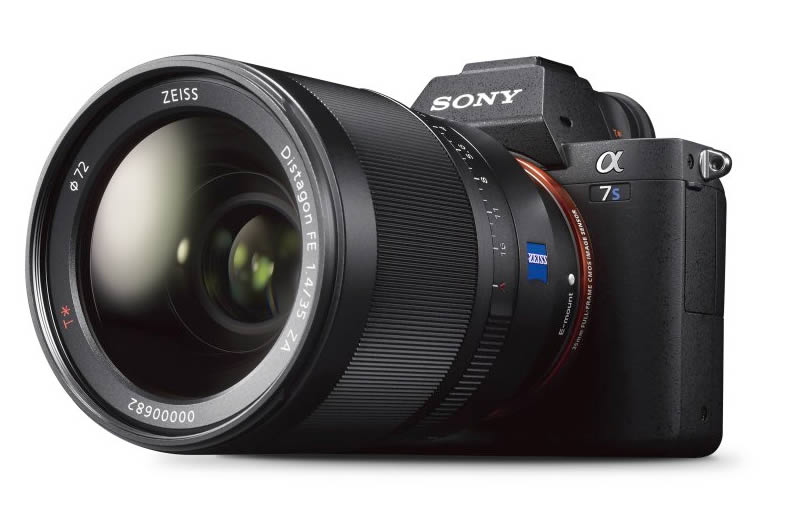 Sony A7S II with Zeiss lens