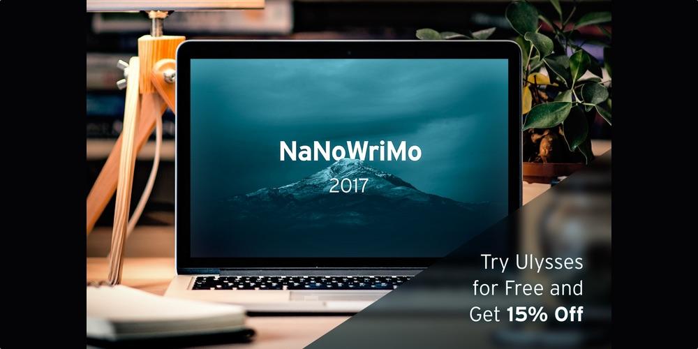 ulysses nanowrimo 2017
