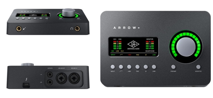 universal audio arrow interface
