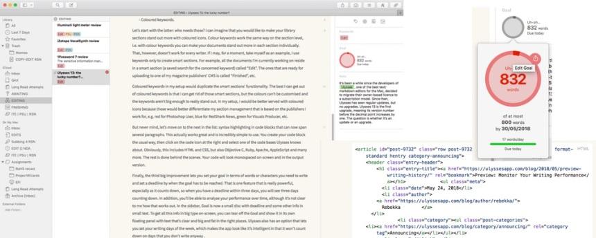 ulysses 13 text editor