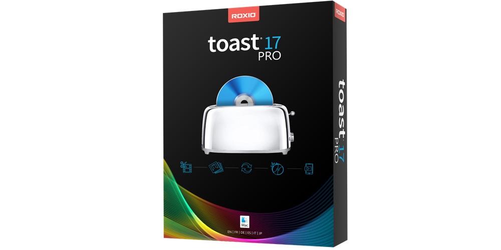 toast 17 optical media recording software macos