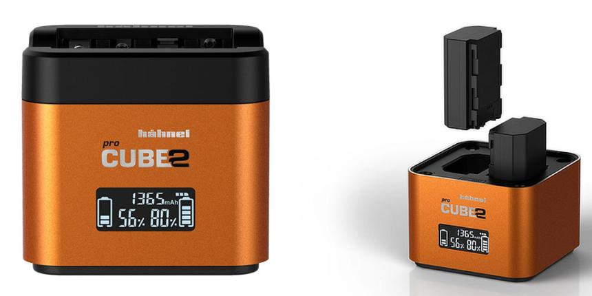 camera battery charger hahnel procube 2 for Sony