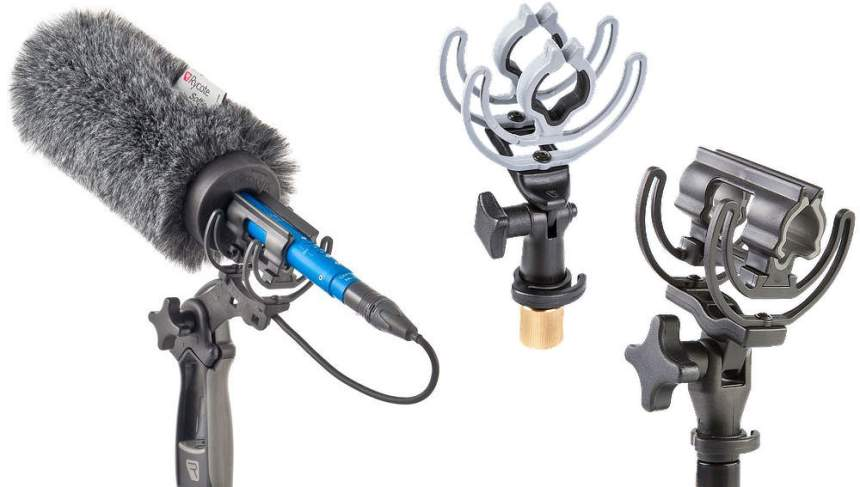 rycote shotgun mic softie with pistol grip