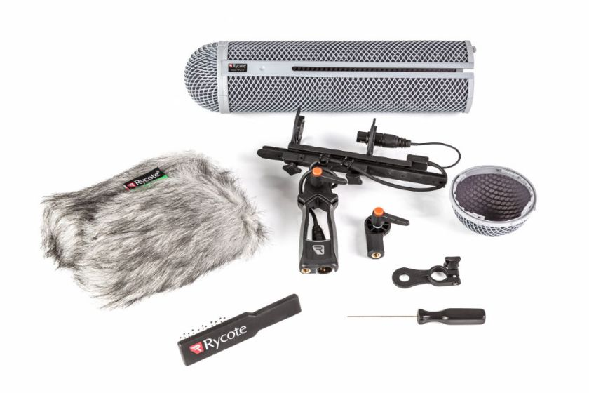The Modular Windshield Kit with its accessories.