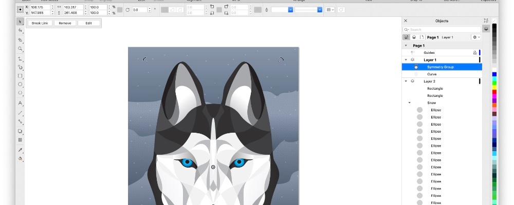 CorelDraw for Mac. Review.
