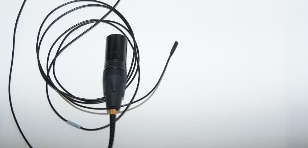 DPA Microphones lavalier mic with Neutrik XLR connector. Review.