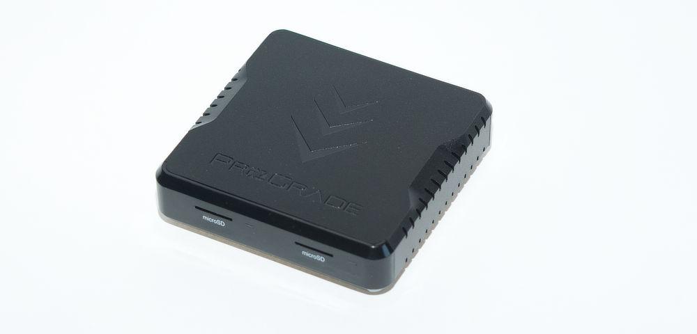 ProGrade Micro-SD dual card reader. Review.