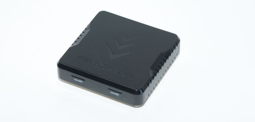 ProGrade Micro-SD dual card reader. Review.