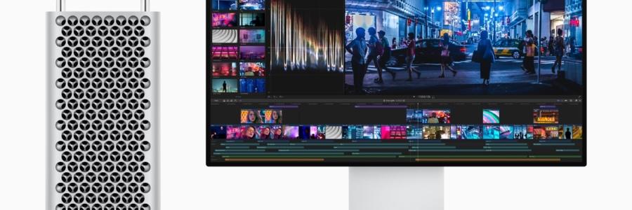 News of Apple's new Mac Pro announcement.