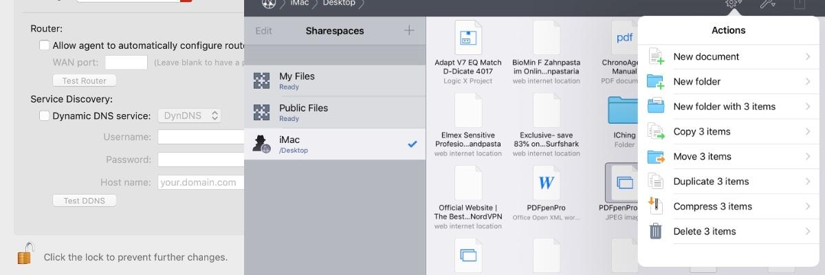 Econ Technologies InterConneX 2 file integration between Mac and iOS
