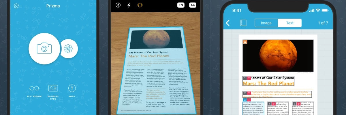 Prizmo 5 iOS scanning app