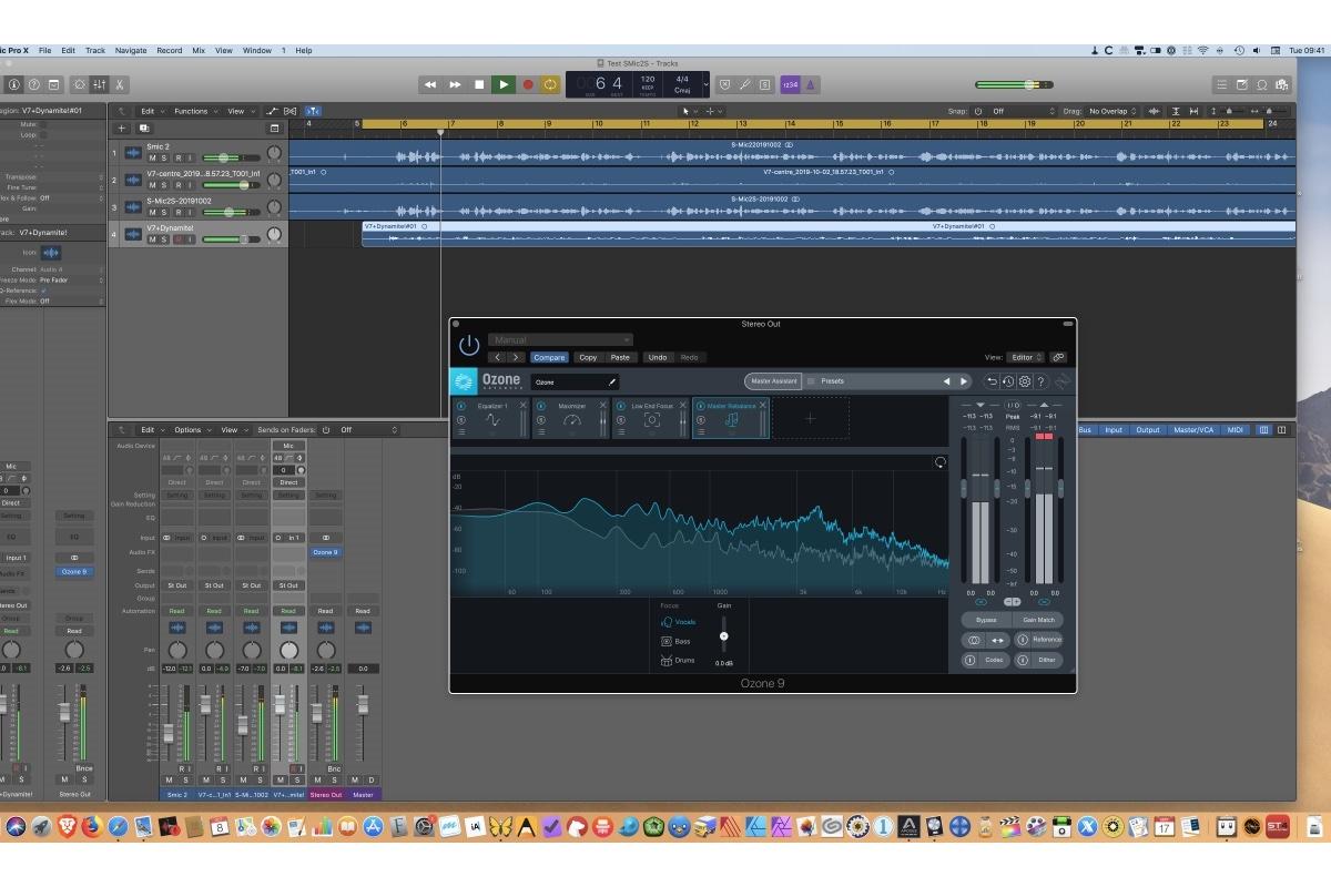 izotope ozone audio mastering plugin