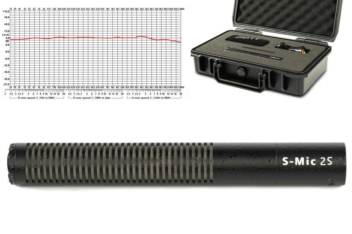 Shotgun microphone Deity S-Mic 2S – Visuals Producer review