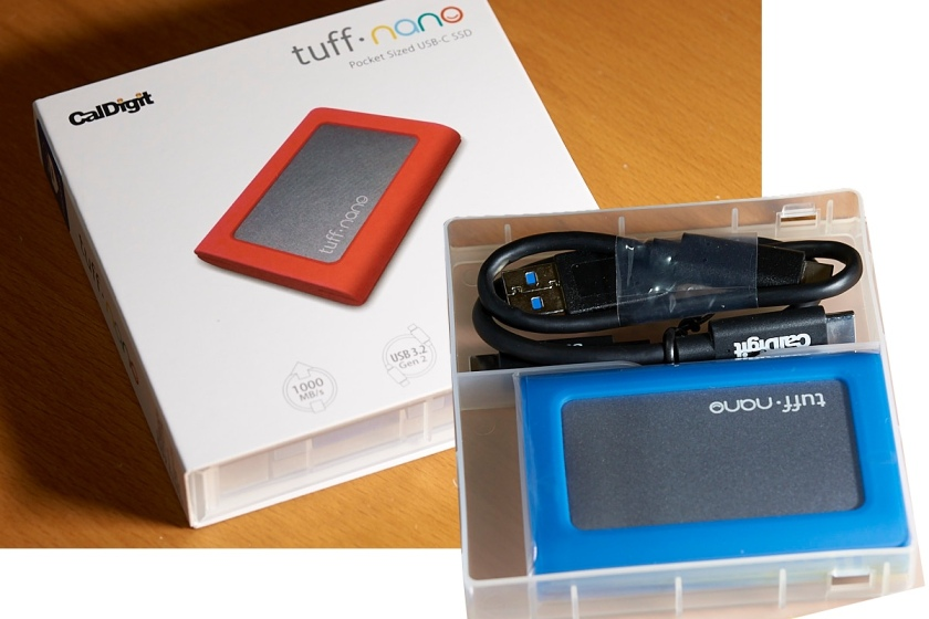 CalDigit Tuff Nano mobile NVMe SSD