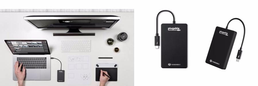 Plugable Thunderbolt 3 NVMe drive 1TB