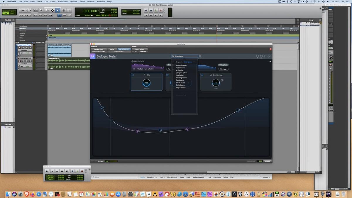 Dialogue Match audio editing – Visuals Producer review