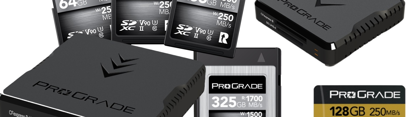 Prograde memory cards and readers – Visuals Producer review