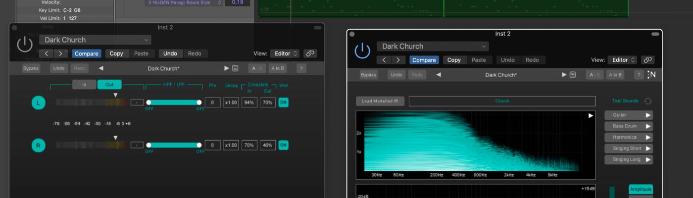 Review of NUGEN Audio's Paragon convolution reverb plugin