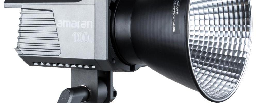 Amaran 100d COB LED light review