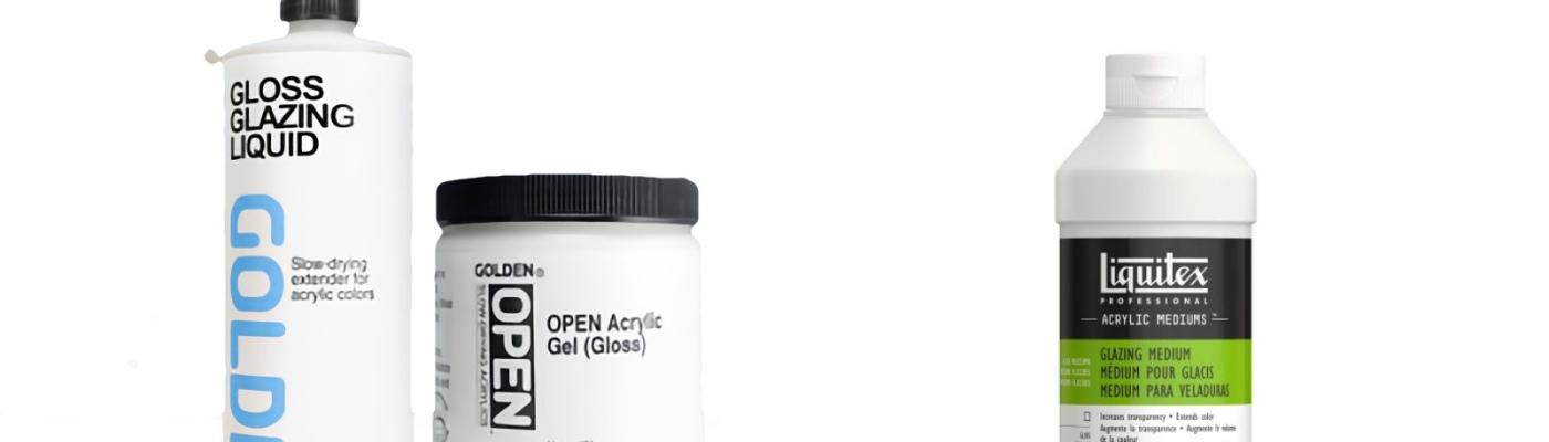 Golden glazing liquid vs Liquitex glazing medium